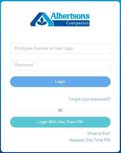 Albertsons Employee Login